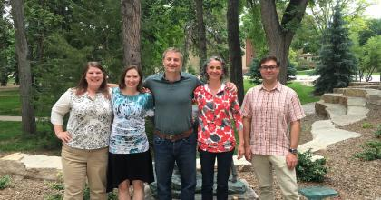 The NIACS and CSU team at the Forest Action Plan workshop.