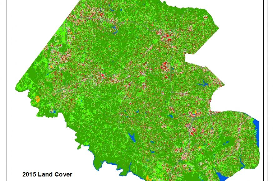 2015 land cover map
