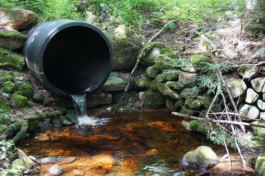 Culvert slated for replacement