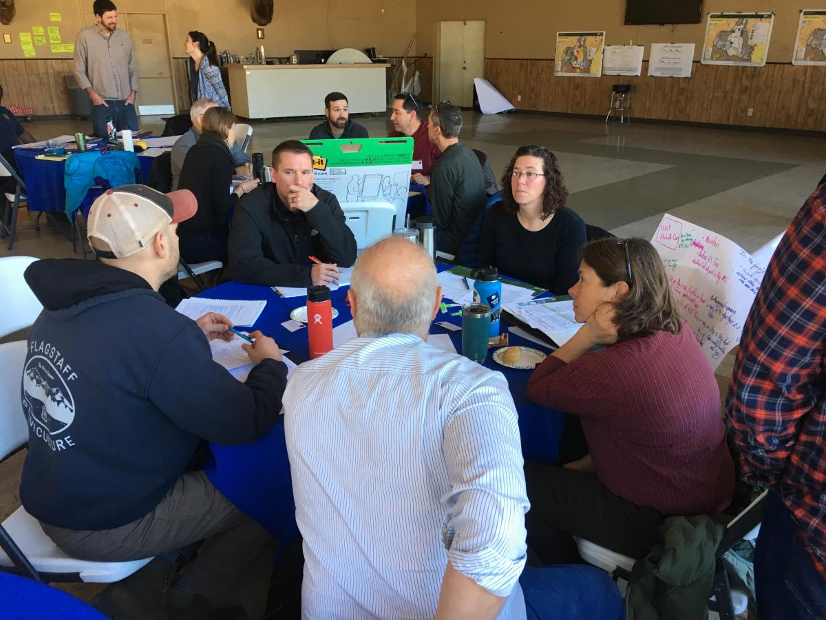 Workshop breakout group